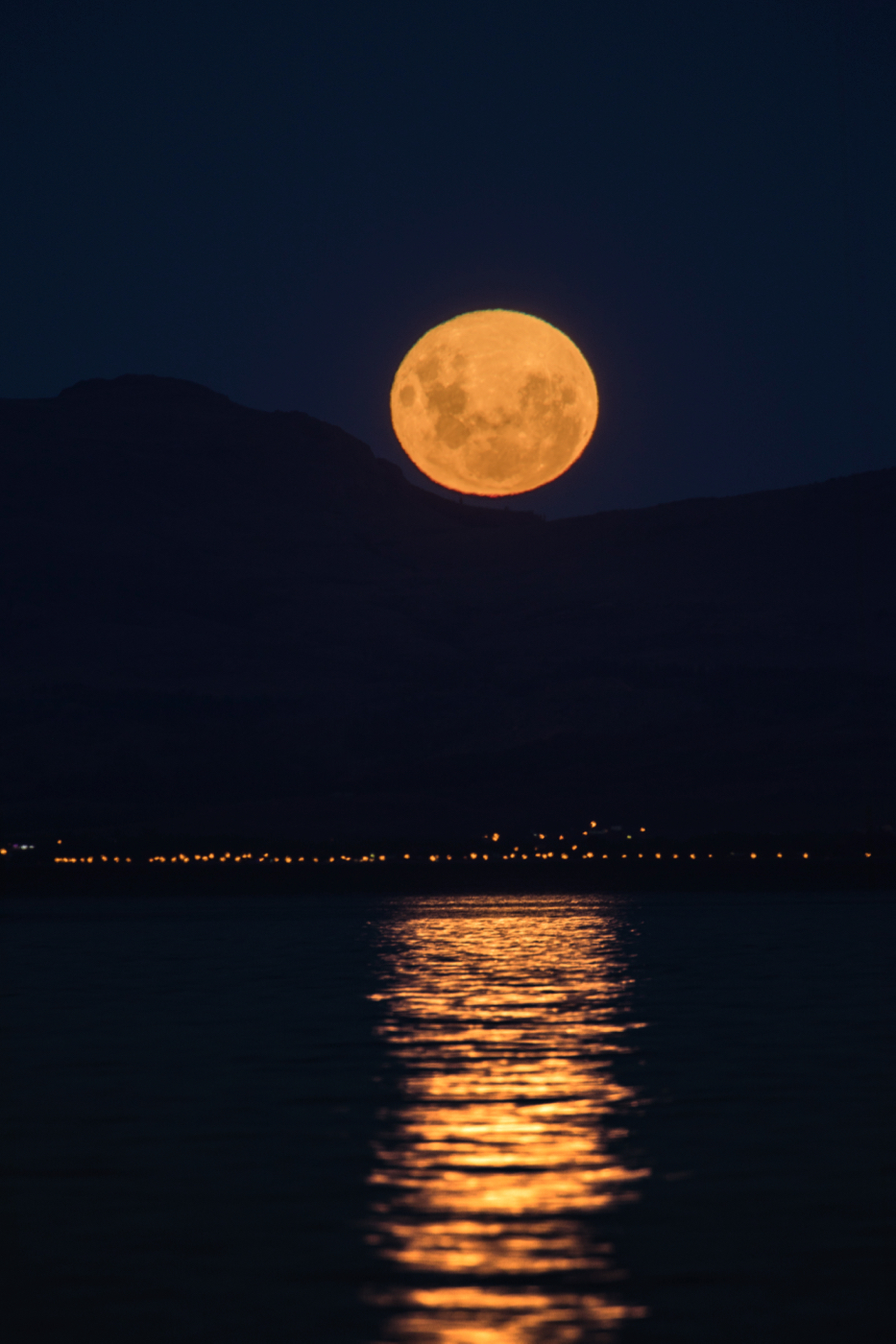 Moon Rise in Bariloche